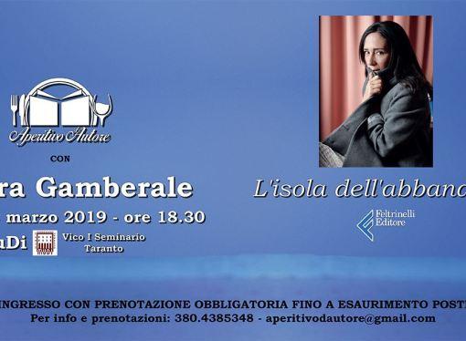 "Chiara Gamberale al MuDi <span class=""dashicons dashicons-calendar""></span>"