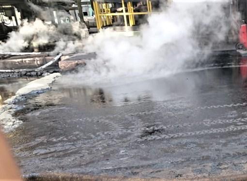 Taranto, sversamento di catrame nella cokeria ArcelorMittal