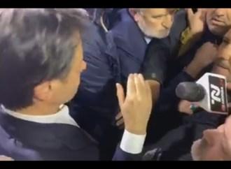 ArcelorMittal, alta tensione a Taranto per l'arrivo di Conte [VIDEO]