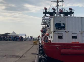 Ocean Viking, 2 casi sospetti di tubercolosi. Soccorsi a cura dell'Asl di Taranto