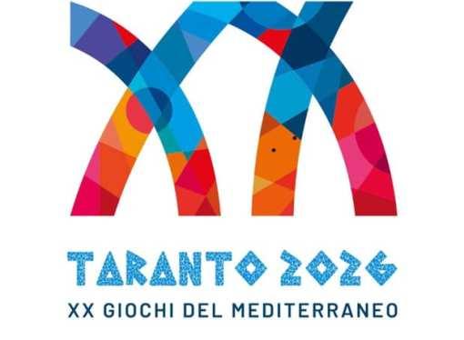 Taranto 2026, ecco il logo dei Giochi del Mediterraneo