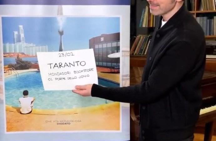 Diodato il 23 febbraio a Taranto per incontrare i fans
