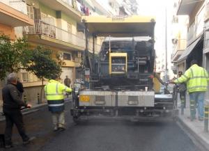 Λάρισα: Το άλλο Σαββατοκύριακο τελικά τα έργα αποκατάστασης στην οδό Μανδηλαρά