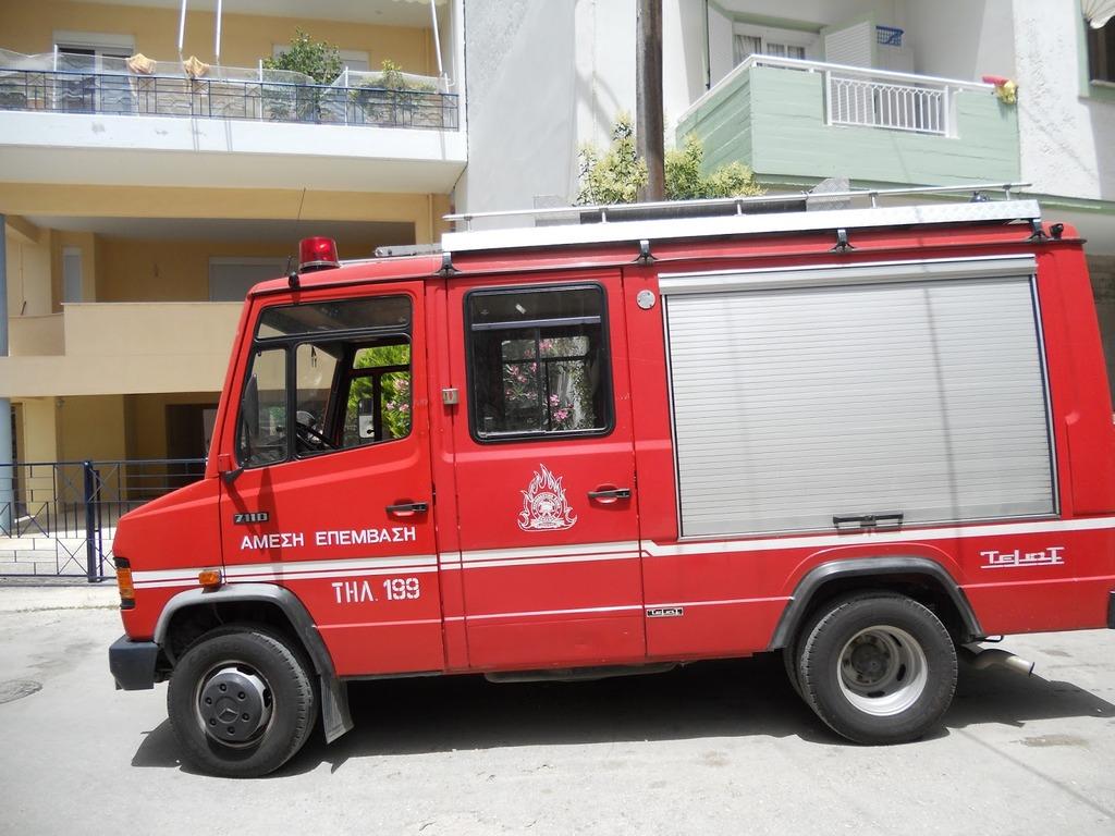 Στο Νοσοκομείο Βόλου νεαρή γυναίκα με ελαφρά εγκαύματα από φωτιά στην κουζίνα της
