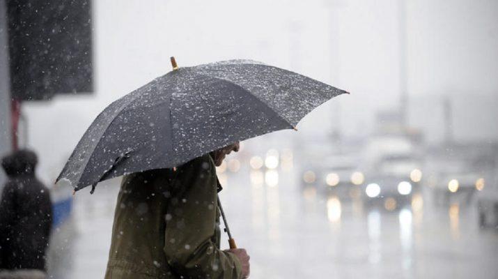 Βροχές και καταιγίδες σήμερα στη Θεσσαλία