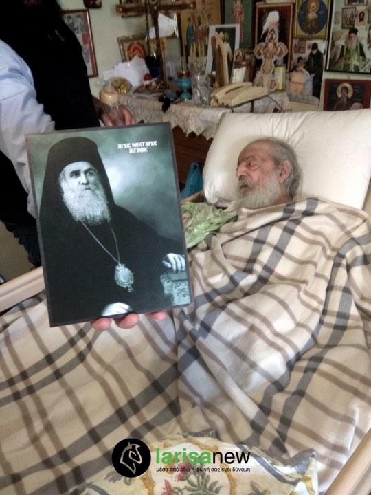 Αυτό Ήταν το Τελευταίο Μήνυμα του χαρισματικού Γέροντα Νεκτάριου Βιτάλη από το κρεβάτι του πόνου «ΚΡΑΤΑΤΕ ΤΟ ΛΑΒΑΡΟ ΤΗΣ ΟΡΘΟΔΟΞΙΑΣ ΨΗΛΑ»
