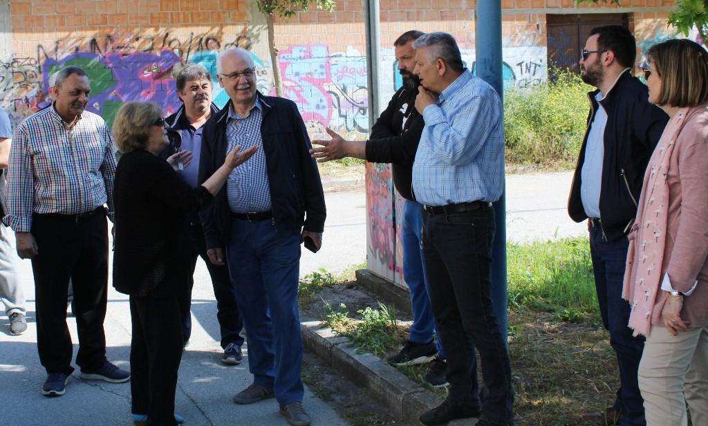 Σε Φιλιππούπολη και Αβέρωφ ο Δήμαρχος Λαρισαίων Απ. Καλογιάννης (φώτο)