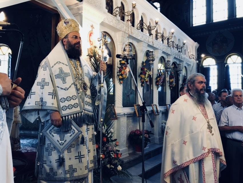 Γιορτάστηκε η Αγία Τριάδα στη Λάρισα
