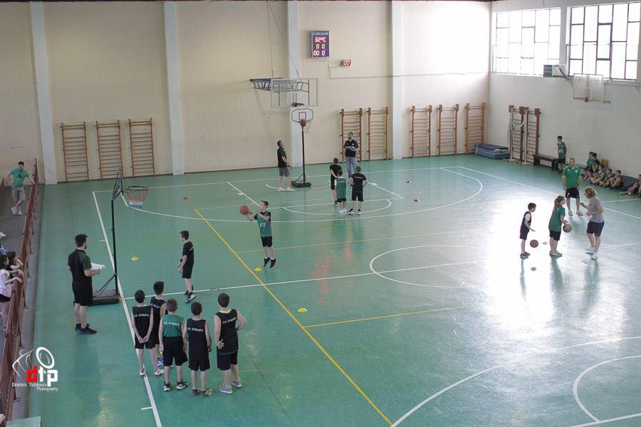 Η γιορτινή καλοκαιρινή προπόνηση των τμημάτων Basket του ΑΟ Σουφλάρια (Φώτο)