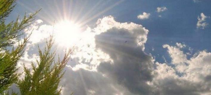 Ηλιος και συννεφιά σήμερα