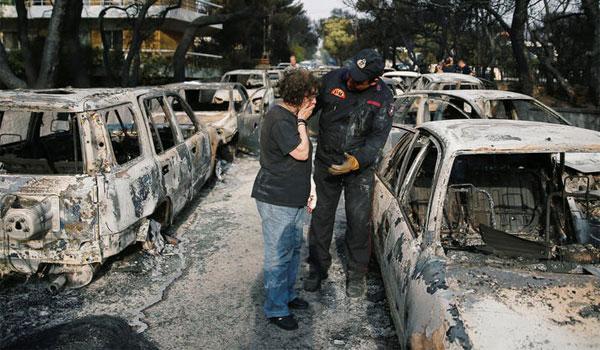 Στους 99 οι νεκροί από τη φωτιά στο Μάτι - Κατέληξε μια 26χρονη