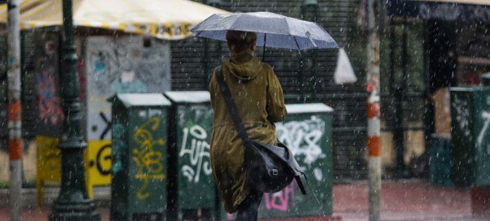 Βροχές και σποραδικές καταιγίδες σήμερα