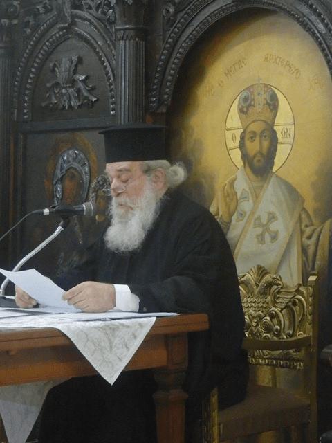Λάρισα: Ο π.Ιωαννίκιος στη Σχολή γονέων του Αγίου Αχιλλίου