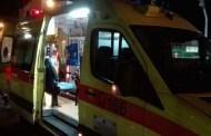 Λάρισα: Αυτοκίνητο παρέσυρε άντρα στην οδό Βόλου