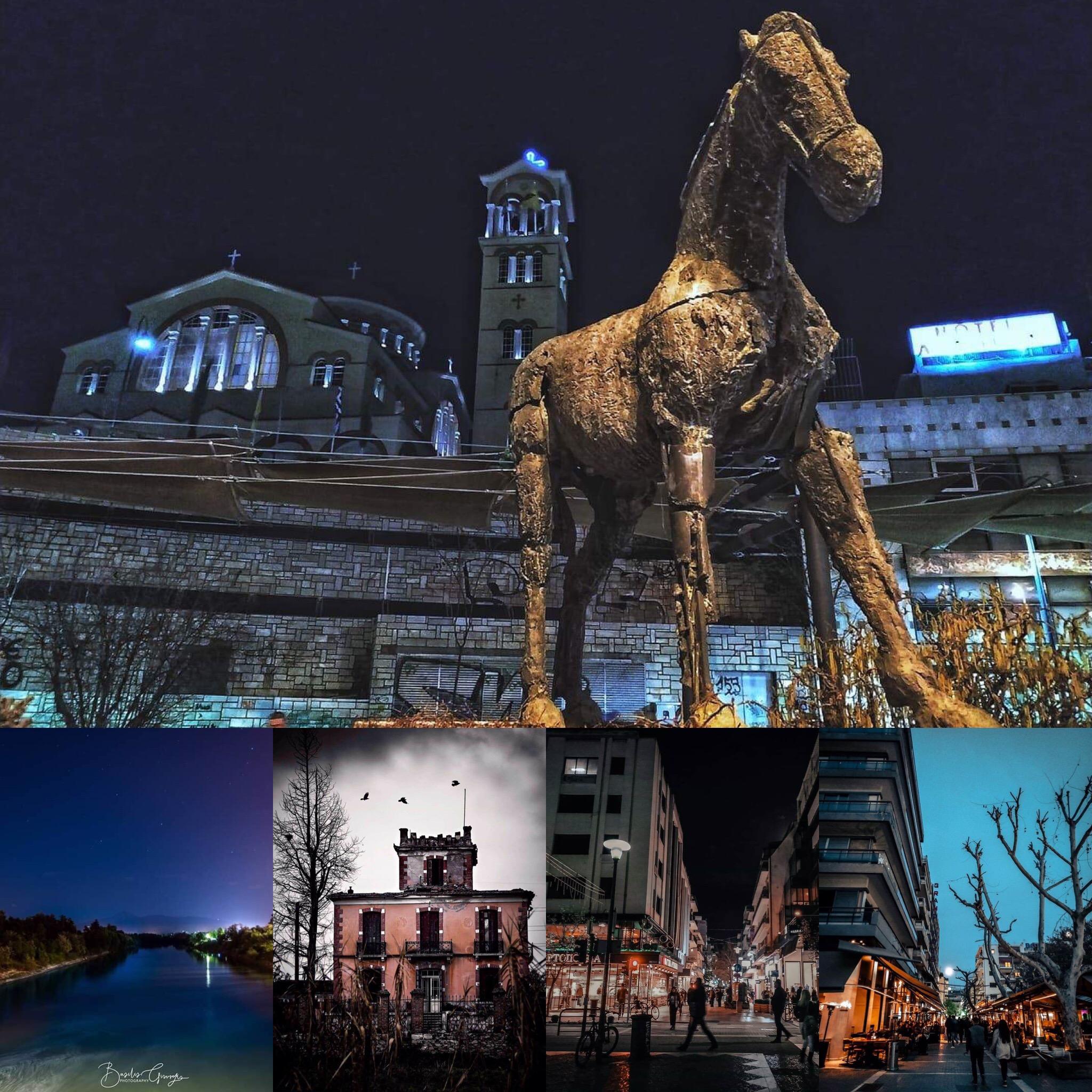 Λάρισα: Όταν η μαγεία της πόλης τη νύχτα συναντά την τέχνη της φωτογραφίας