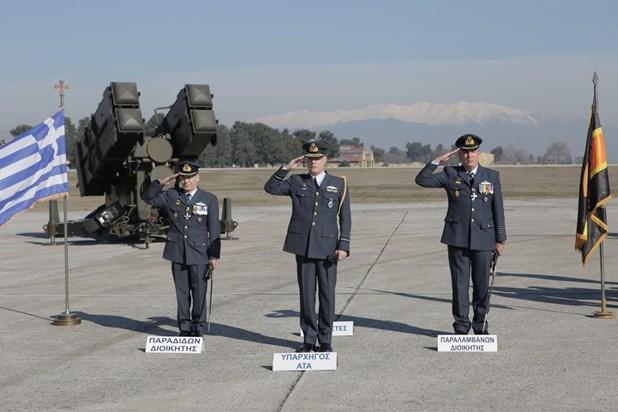 Ανέλαβε καθήκοντα ο νέος διοικητής της 110 ΠΜ (Εικόνες)