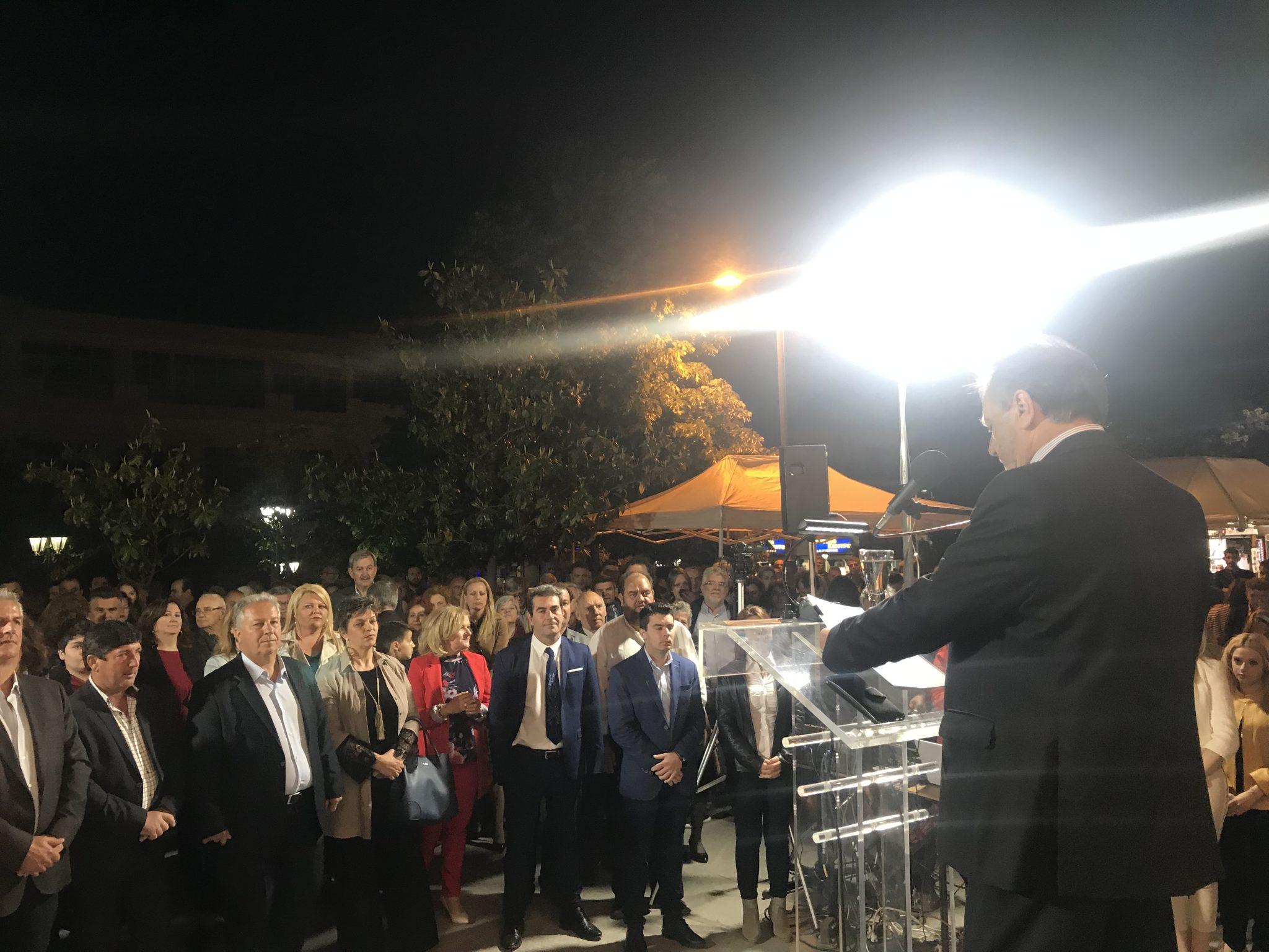 Εγκαίνια εκλογικού κέντρου – Παρουσίαση των υποψηφίων του συνδυασμού