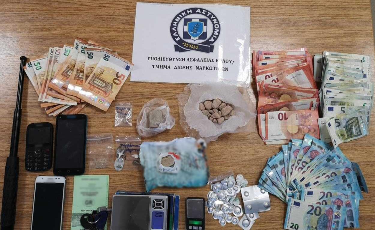 Εξαρθρώθηκε εγκληματική ομάδα, τα μέλη της οποίας διακινούσαν ναρκωτικά στο Βόλο