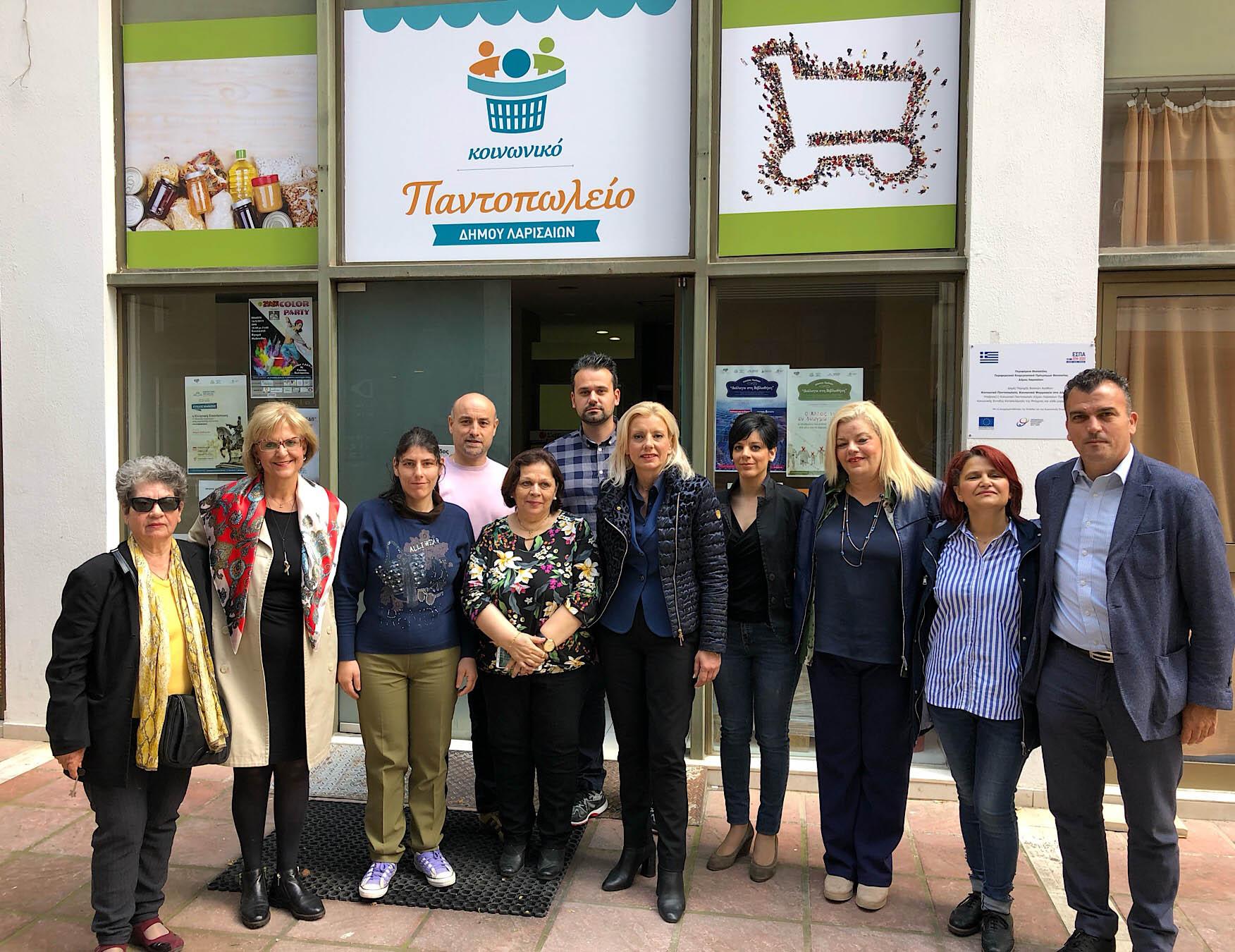 Ρένα Καραλαριώτου: Λάρισα πόλη της ανθρωπιάς και της αλληλεγγύης