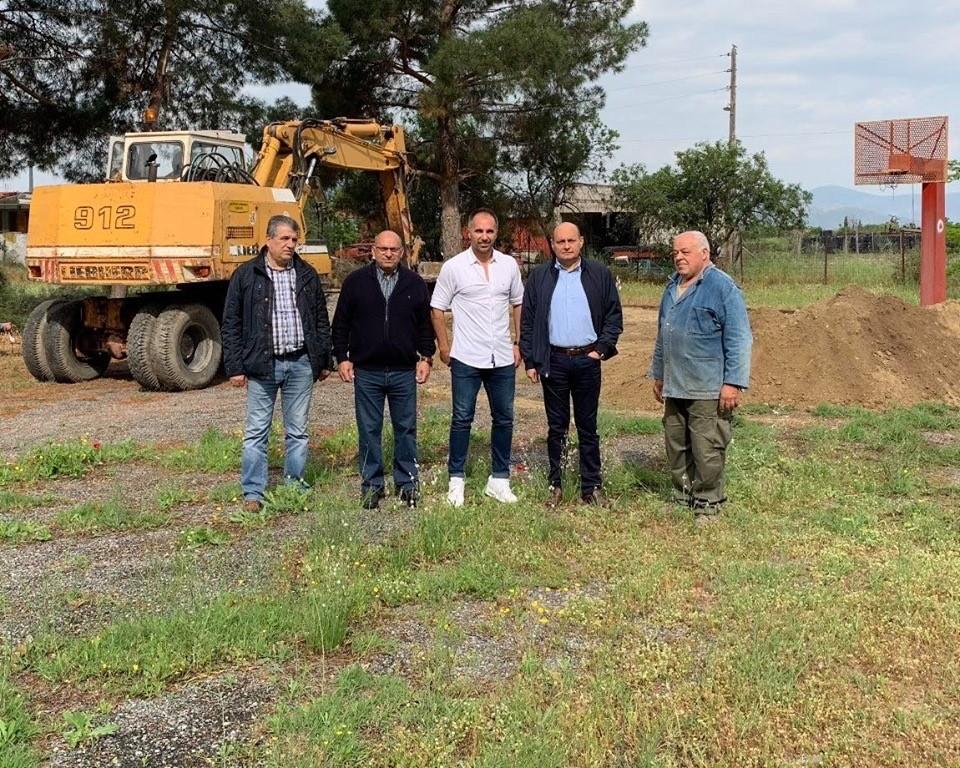 Ανακατασκευή των γηπέδων από Δήμο Τεμπών σε συνεργασία Περιφέρειας Θεσσαλίας
