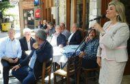 Ευαγγελία Λιακούλη από το Λιβάδι: «Η ψήφος στο ΚΙΝΑΛ, είναι ψήφος για τους μικρούς και αδύναμους»