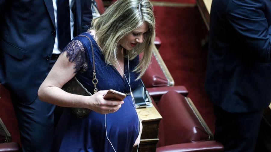 Με καταγωγή από την Καρδίτσα η εγκυμονούσα βουλευτής που τράβηξε πάνω της όλα τα βλέμματα στην ορκωμοσία (+Φώτο)ΚΎΡΙΟ