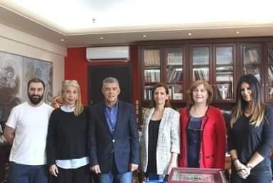 Συνάντηση του Περιφερειάρχη Θεσσαλίας με το Σύλλογο Καρκινοπαθών Λάρισας