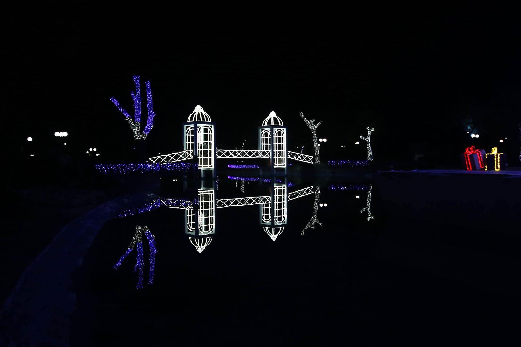 Χριστούγεννα στη Λάρισα και το Πάρκο των Ευχών (Video)