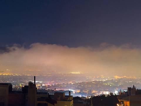 Παραμένει η ρύπανση στον Βόλο – Στα ύψη τα αιωρούμενα μικροσωματίδια