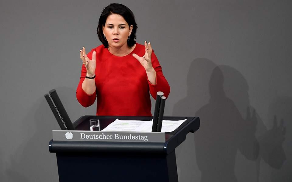 Επικεφαλής των Πρασίνων: Η Ελλάδα έπρεπε να είχε προσκληθεί στη σύνοδο του Βερολίνου