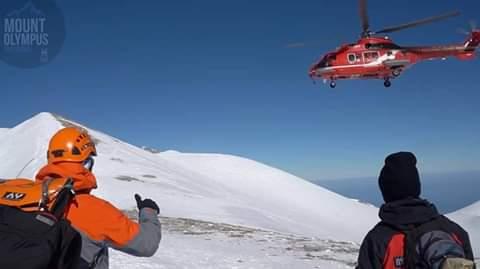 Στην άσκηση στον Όλυμπο η Ορεινή Ομάδα Διάσωσης της ΕΟΔΥΑ (ΦΩΤΟ)