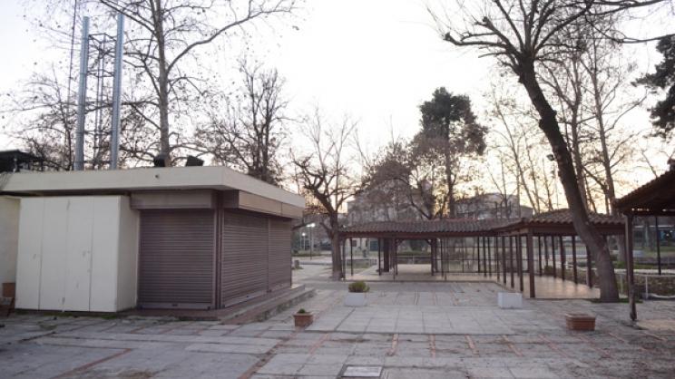 Με ενοίκιο 4.100 ευρώ τον μήνα θα ανοίξει ξανά το αναψυκτήριο στο Κηποθέατρο  στη Λάρισα