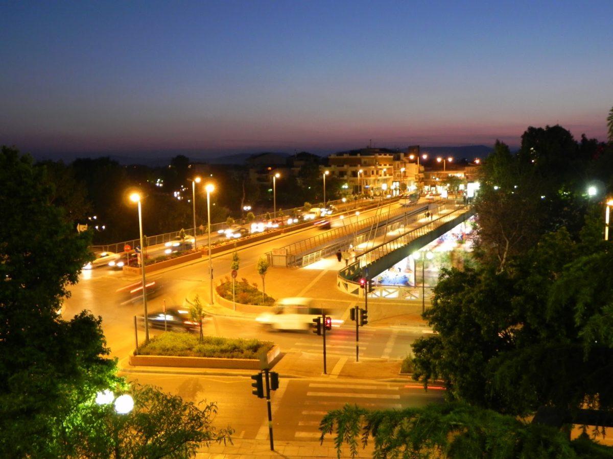 Μαγικό ηλιοβασίλεμα στον Πηνειό της Λάρισας! Δείτε την φωτογραφία (pics)