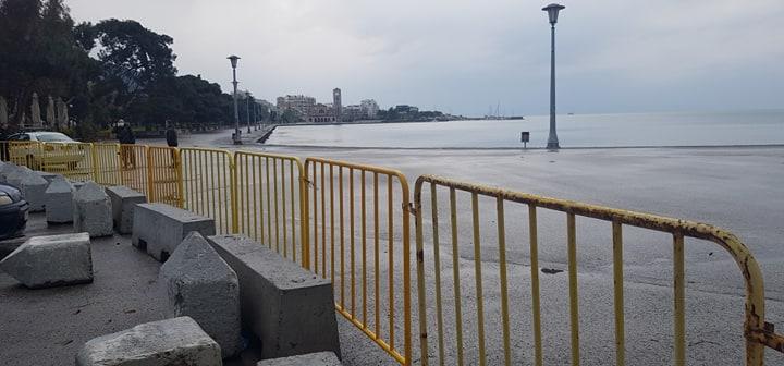 Βόλος: Τρεις συλλήψεις στην παραλία για παραβίαση απαγόρευσης κυκλοφορίας