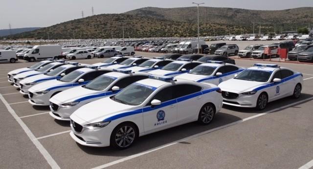 Με 18 νέα οχήματα και υλικοτεχνικό εξοπλισμό ενίσχυσε την Ελληνική Αστυνομία η Αυτοκινητόδρομος Αιγαίου