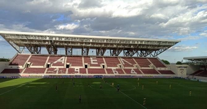 Το AEL FC Arena εν καιρώ… κορωνοιού (Φώτο)