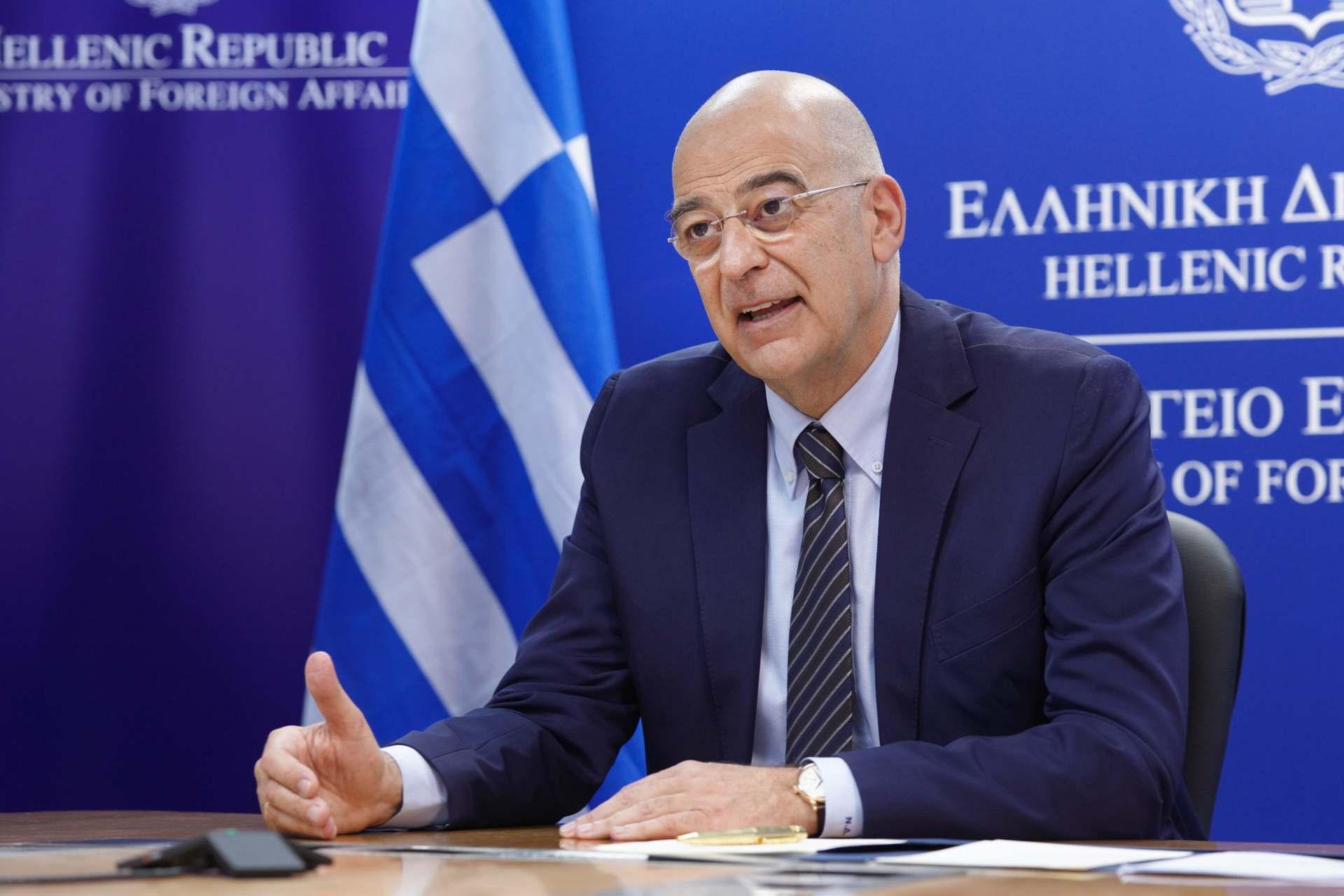 Στην τηλεδιάσκεψη της Συνόδου των Υπουργών Εξωτερικών του ΝΑΤΟ αύριο ο Ν. Δένδιας