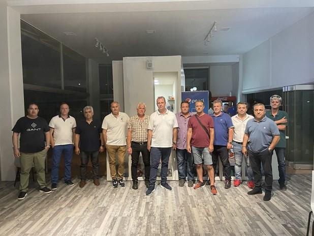 Ανανέωσε τη θητεία του ο Μπουχλαριώτης στο ερασιτεχνικό ποδόσφαιρο της Λάρισας