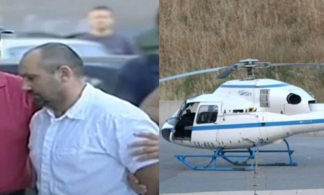 Ο Παλαιοκώστας το έσκαγε με το ελικόπτερο και οι φύλακες… βαρούσαν προσοχή (vid)
