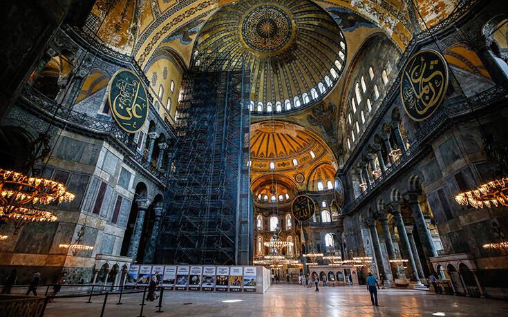 Άγκυρα: Η Αγία Σοφία αποτελεί ιδιοκτησία της Τουρκίας – Με πολιτική σκοπιμότητα η απόφαση της UNESCO