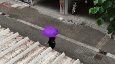 Μετά τον καύσωνα… βροχή – «Άνοιξαν οι ουρανοί» στη Λάρισα (ΦΩΤΟ)