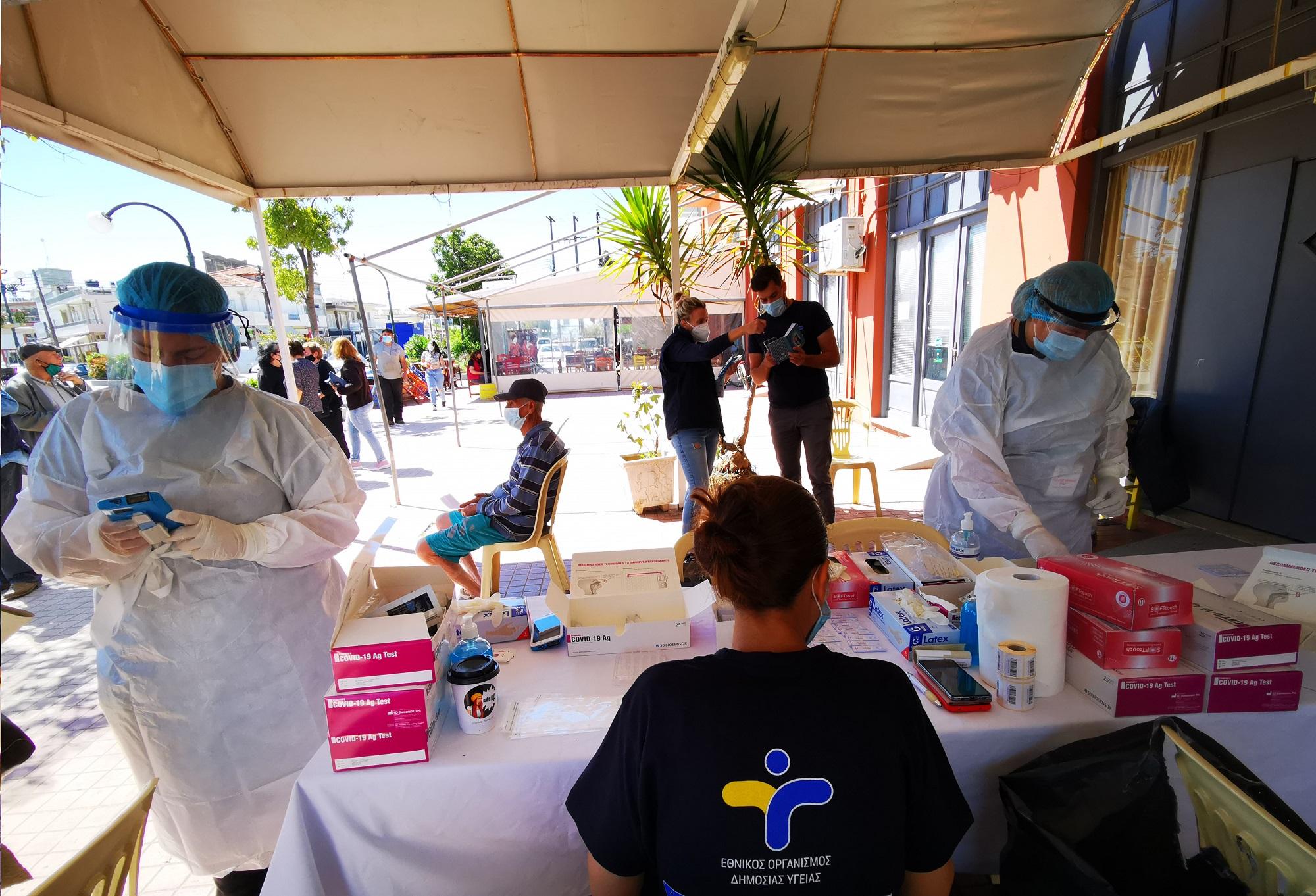 Σαρηγιάννης: Θα φτάσουμε 2.600 κρούσματα έως το τέλος Ιουλίου