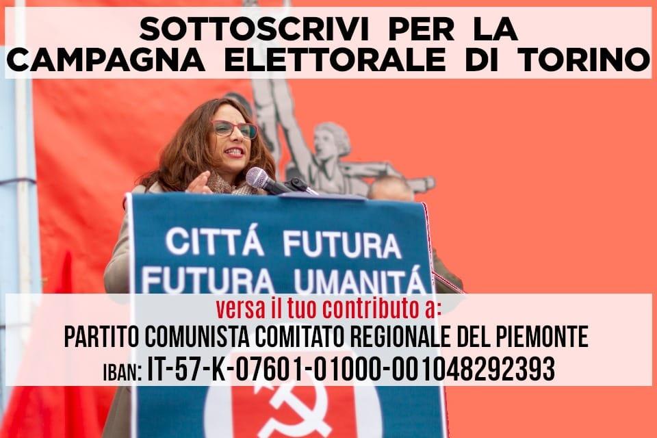 Di Cristina, comunista e unica candidata donna a Torino