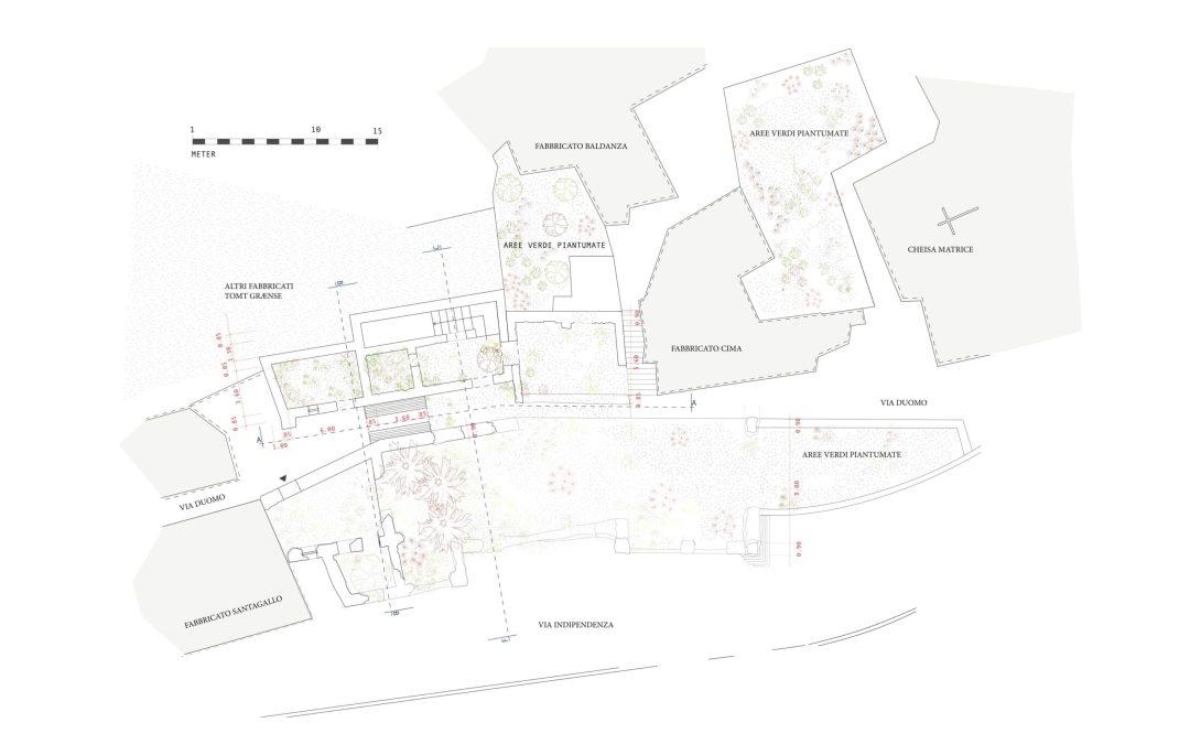Pianta Proposta progettuale Jon Borberg