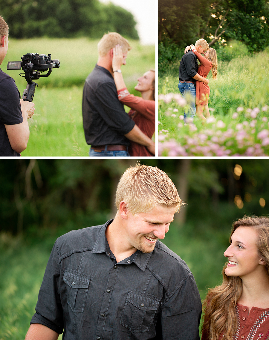 Iowa and California Wedding and Engagment Videos