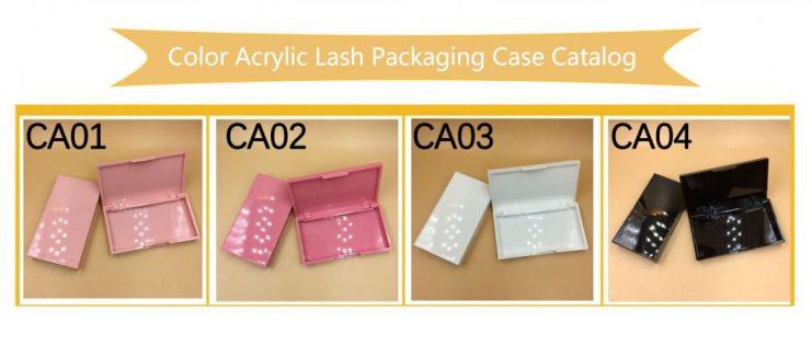 Acrylic Eyelash Packaging Boxes