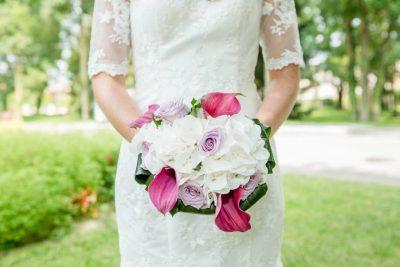 Mariage A&A bouquet