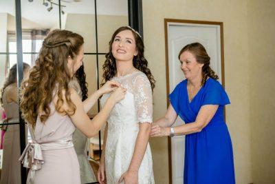 Mariage A&A mariée