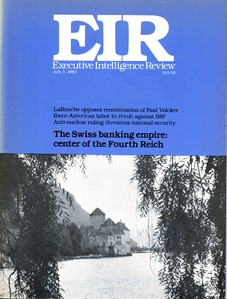 Cover of EIR Volume 10, Number 26, July 5, 1983