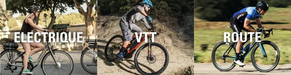 Reprise La Roue Libre achat Électrique VTT Route